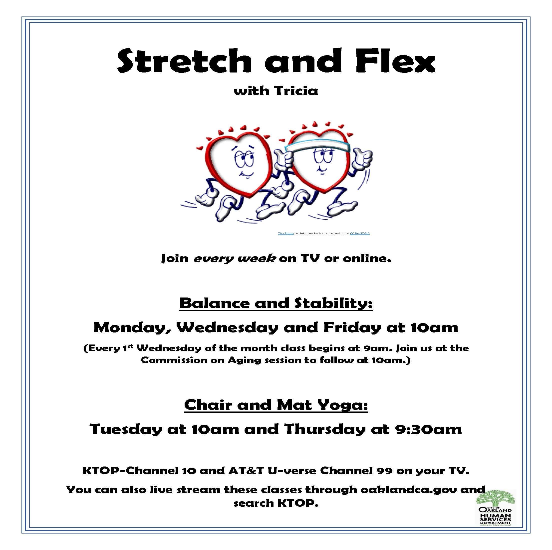Stretch & Flex with Tricia: Balance & Stability Image