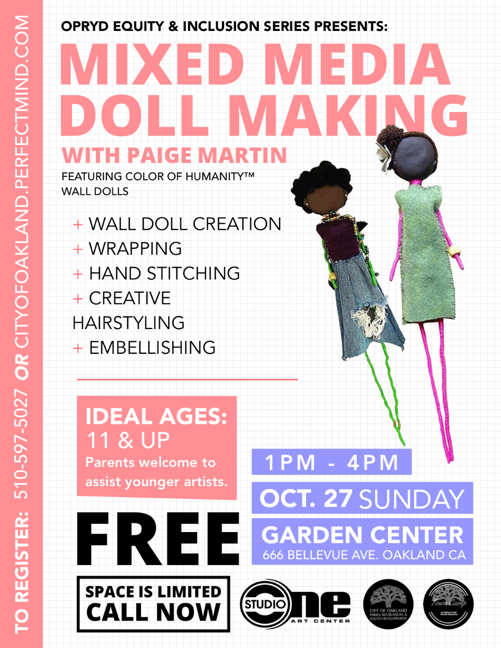 Mixed Media Doll Making Workshop
