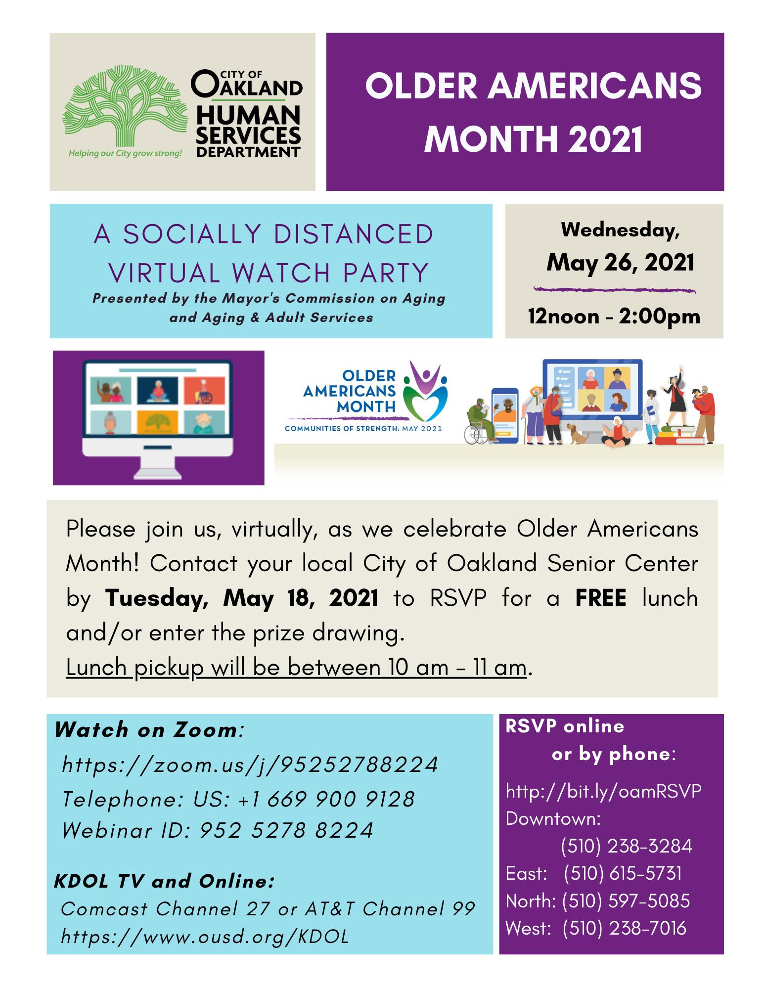 OAM 05.26.2021 Event Flyer