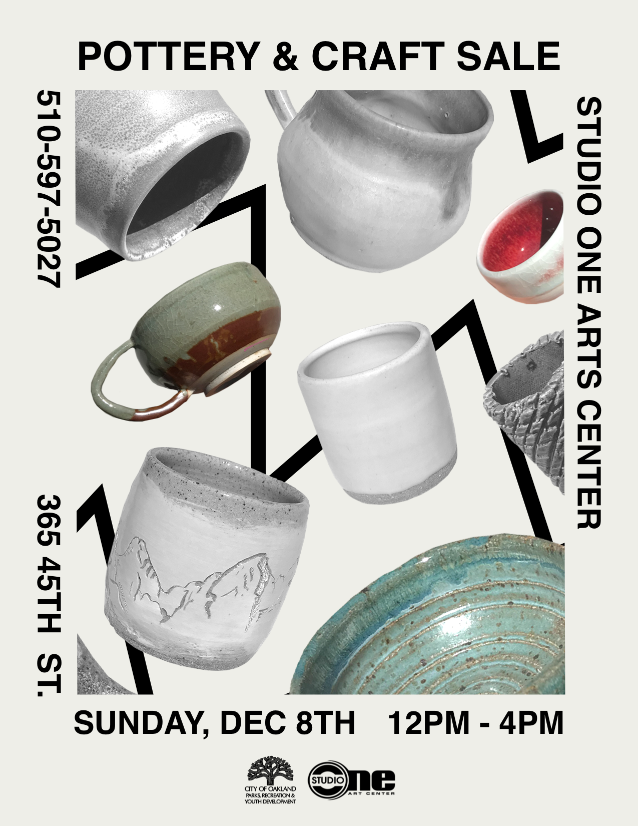 Studio One Annual Pottery and Craft Sale Image