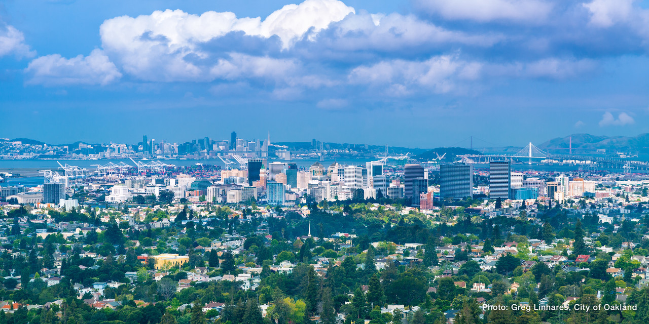 150514 7534 Downtown Oakland Morning Skyline  X2