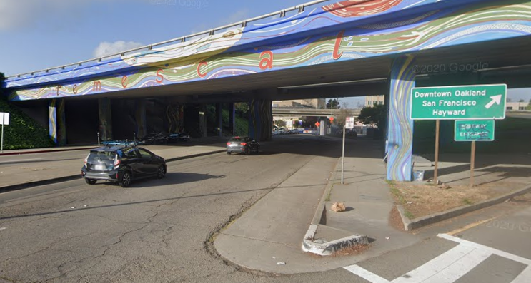 580 Underpass at 51st Street