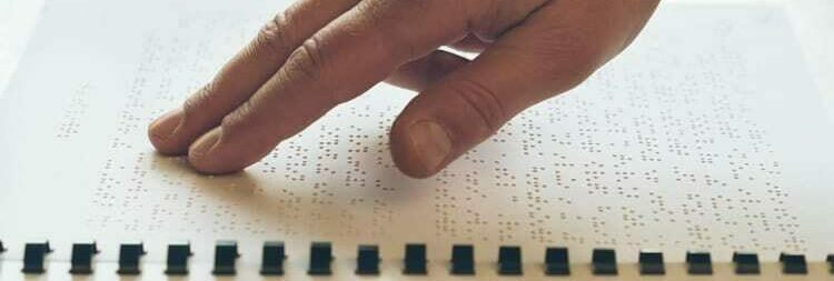 Braille Book Fingers