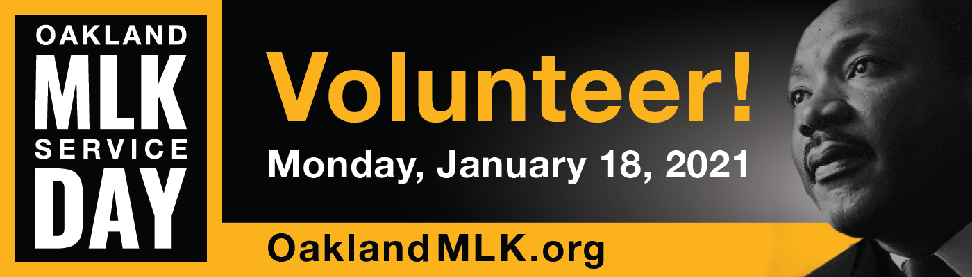 City of Oakland | MLK Day of Service, Monday January 18, 2021