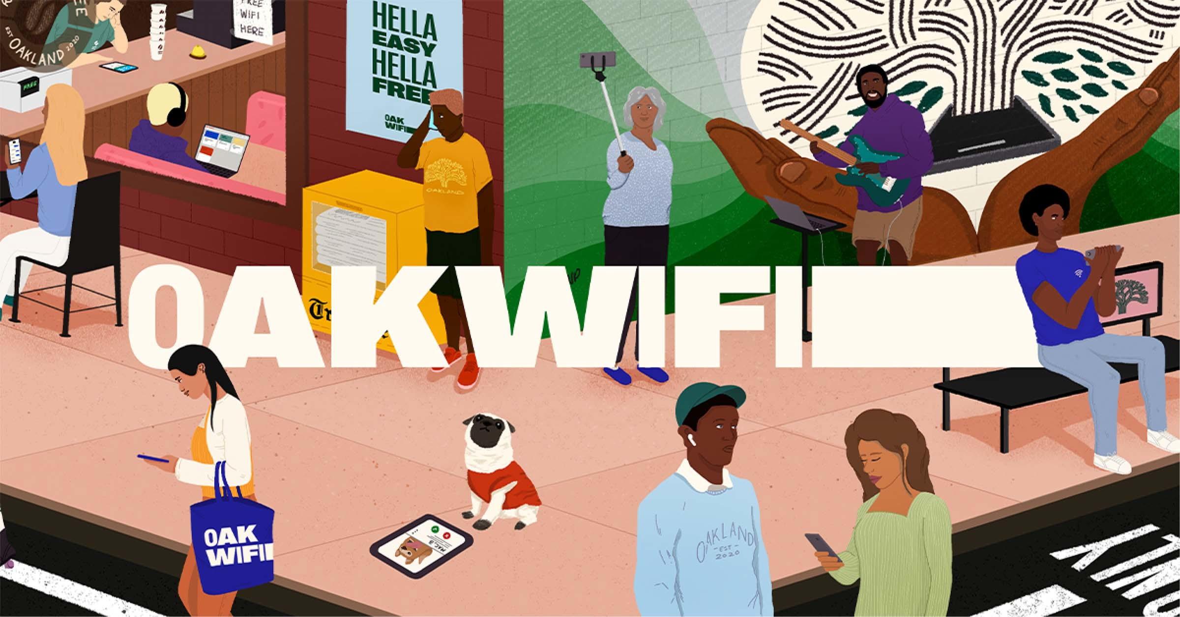 OAKWIFI Banner