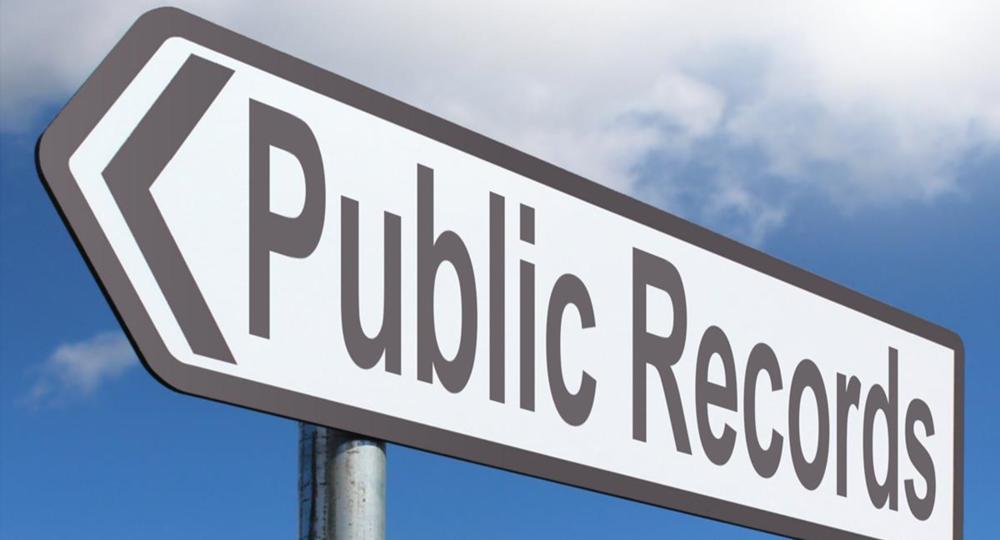 Public Records Graphic