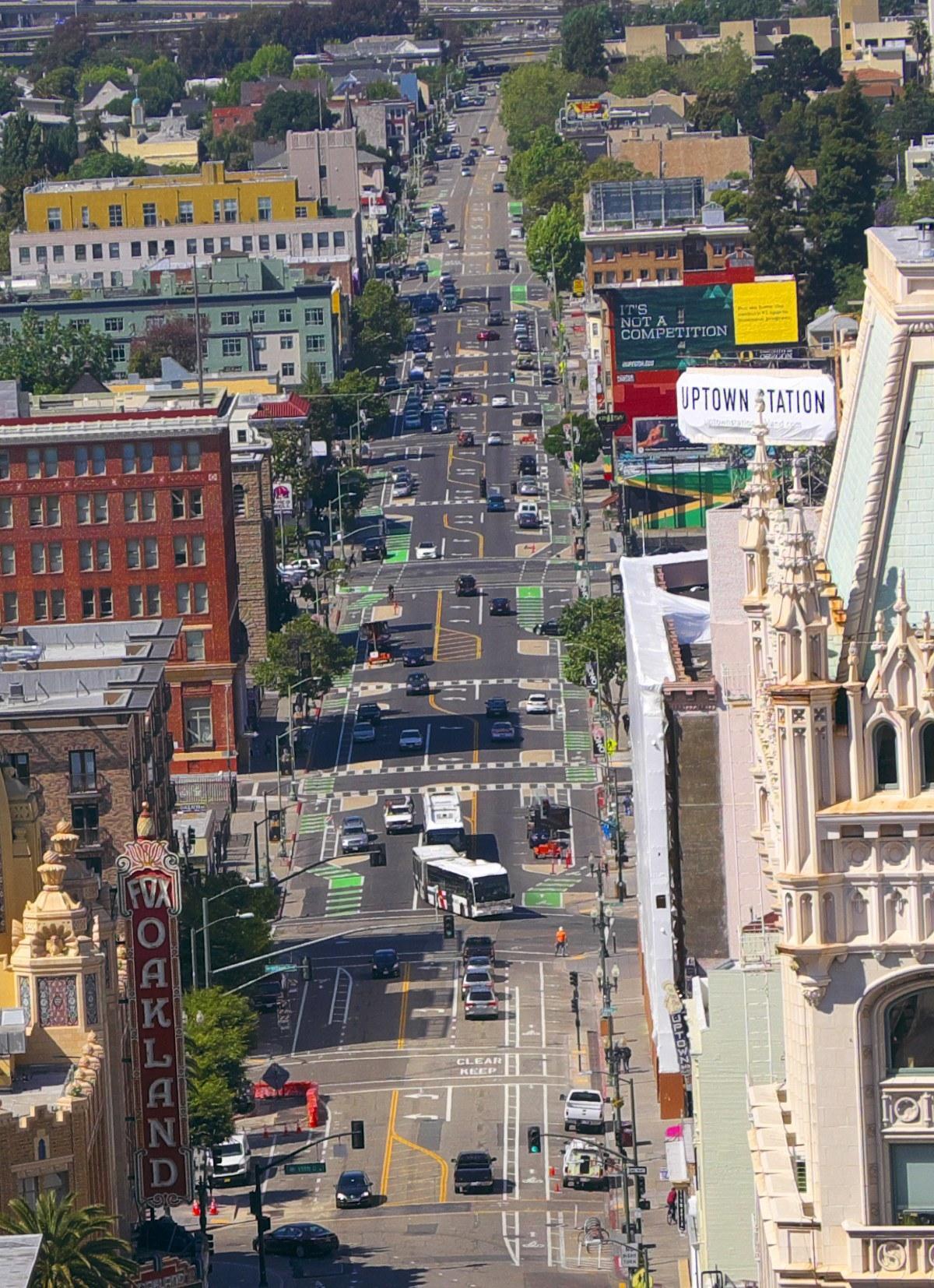 Telegraph Aerial Oakland
