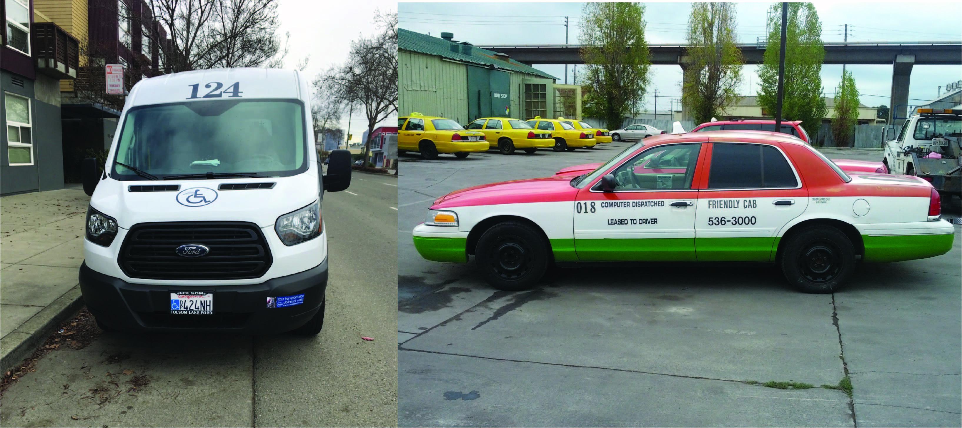 Taxivanbanner